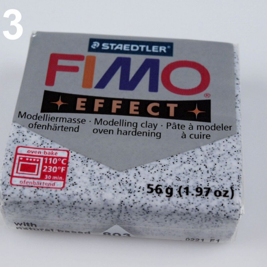 FIMO EFFECT 56g - granit