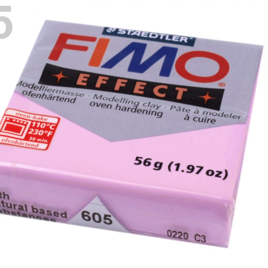 FIMO EFFECT 56g - pastel lila