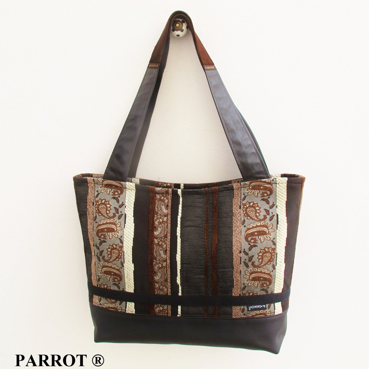STRIPPED BIG BAG * PARROT®
