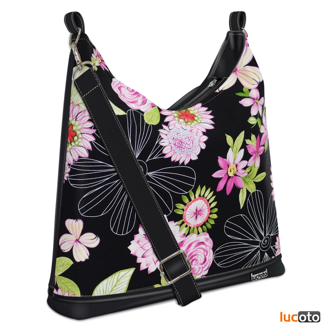 Bagbi One Flower black