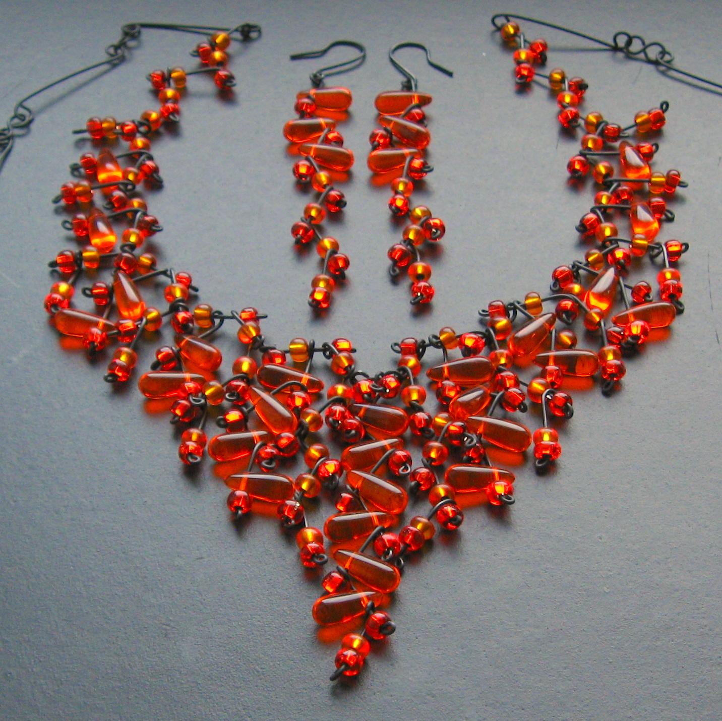 Oranžové třepení