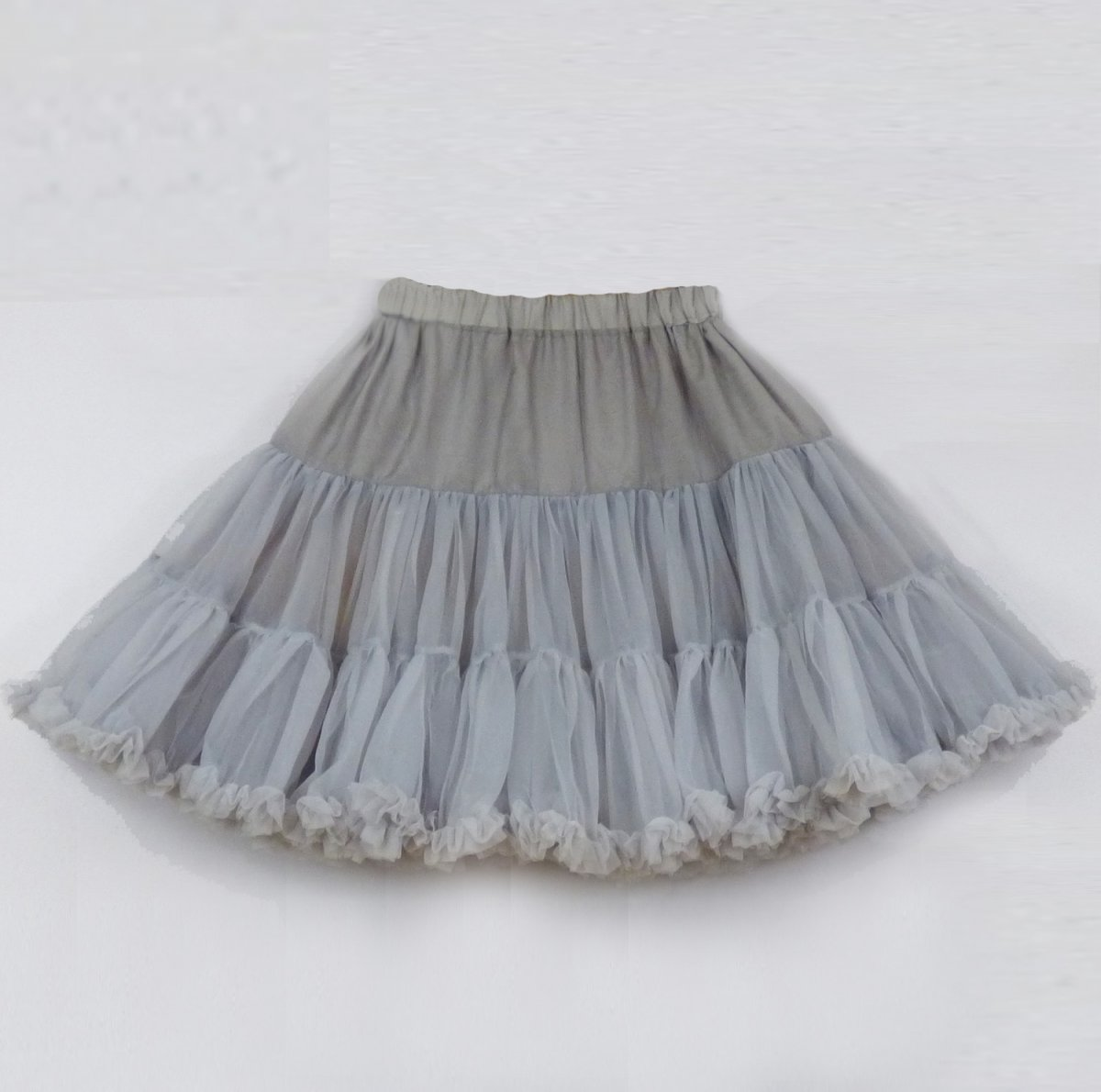 FuFu sukně s kapsami a šedou spodničkou – Potvor - pomáhat tvořit d211898641