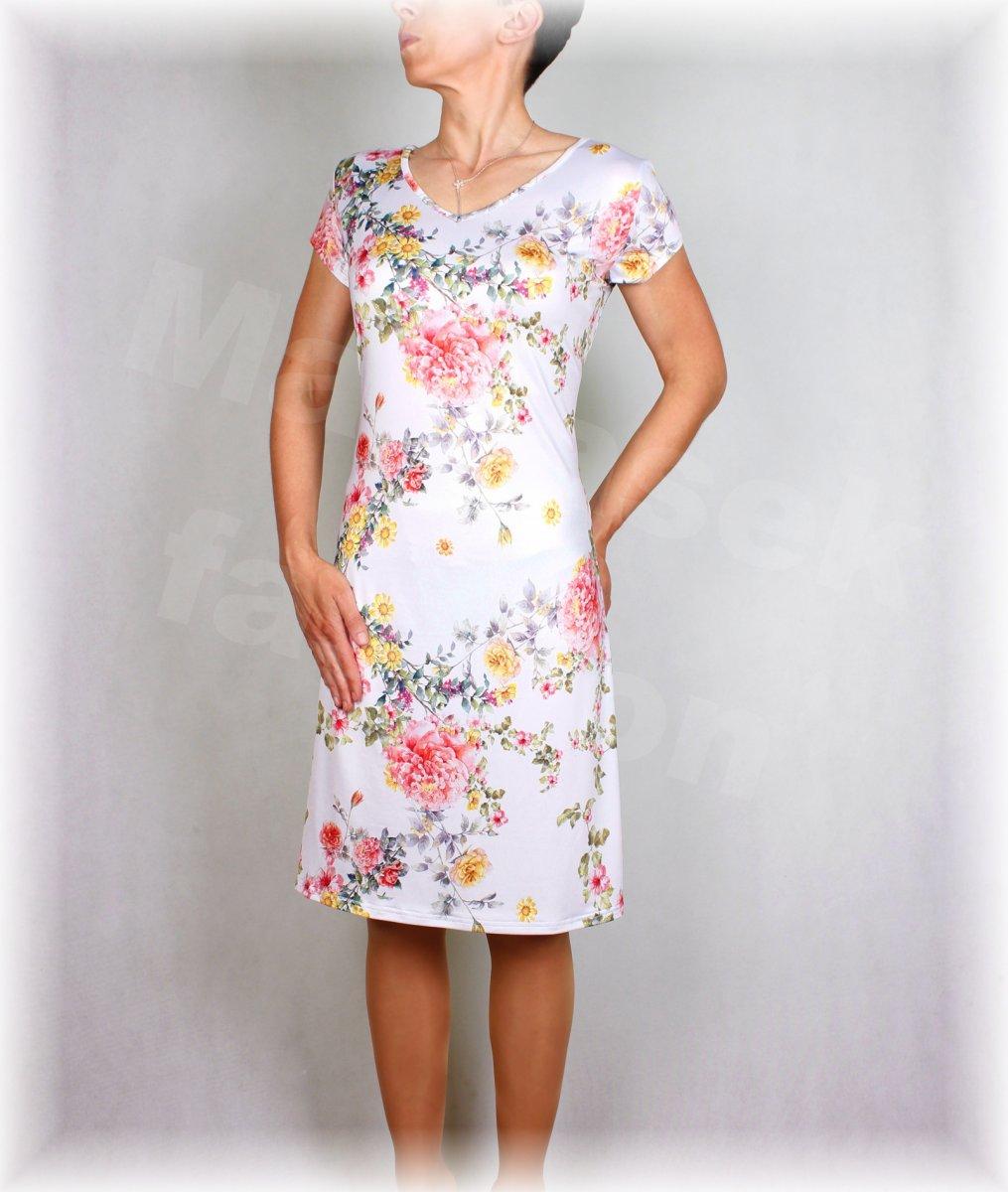 7efc00d97a1e Šaty luxusní úplet vz.406 – Potvor - pomáhat tvořit
