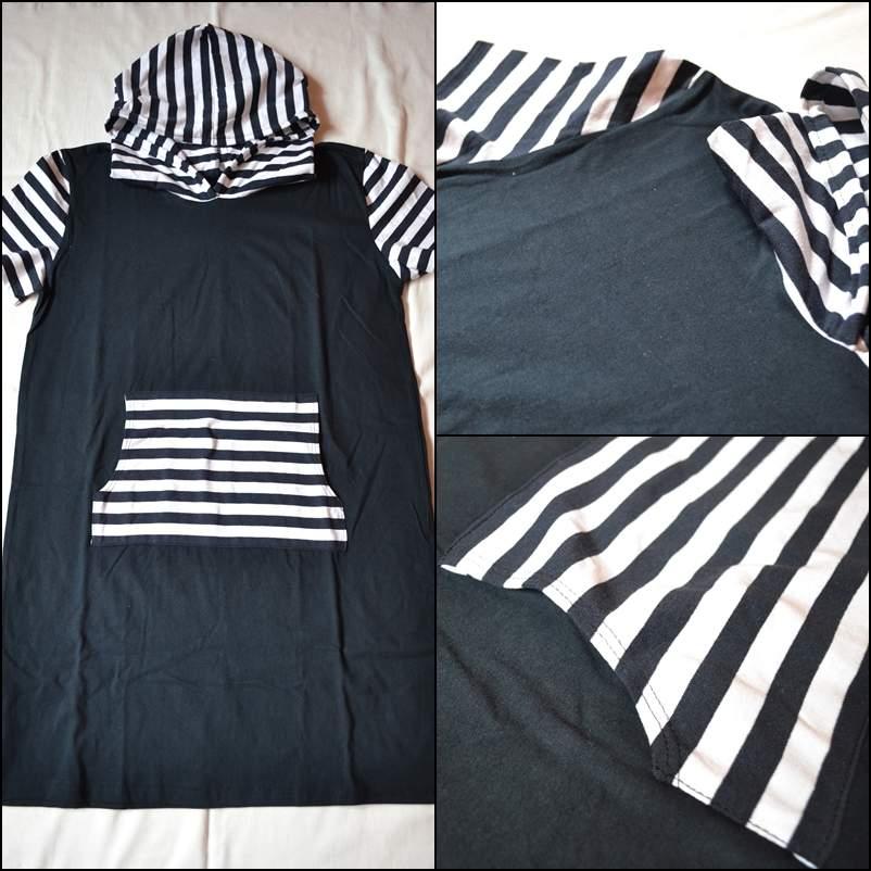 d162fa88bc4 Dámské námořnické šaty s kapucou – Potvor - pomáhat tvořit