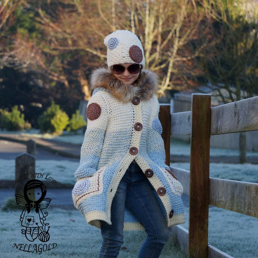 01ada39d495 Pletený kabát s mandaly - návod 191 – Potvor - pomáhat tvořit