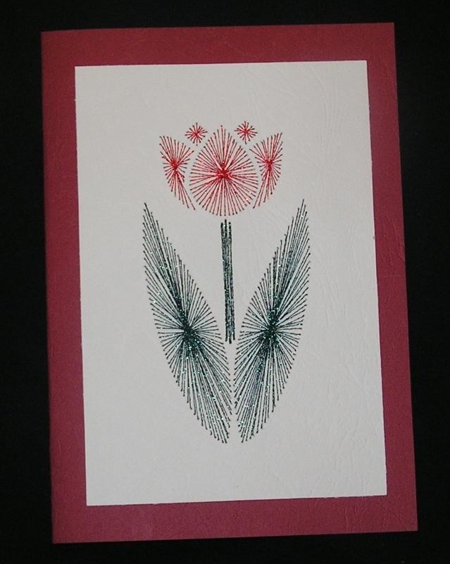 výrobky z papíru k narozeninám Tulipán – Potvor   pomáhat tvořit výrobky z papíru k narozeninám