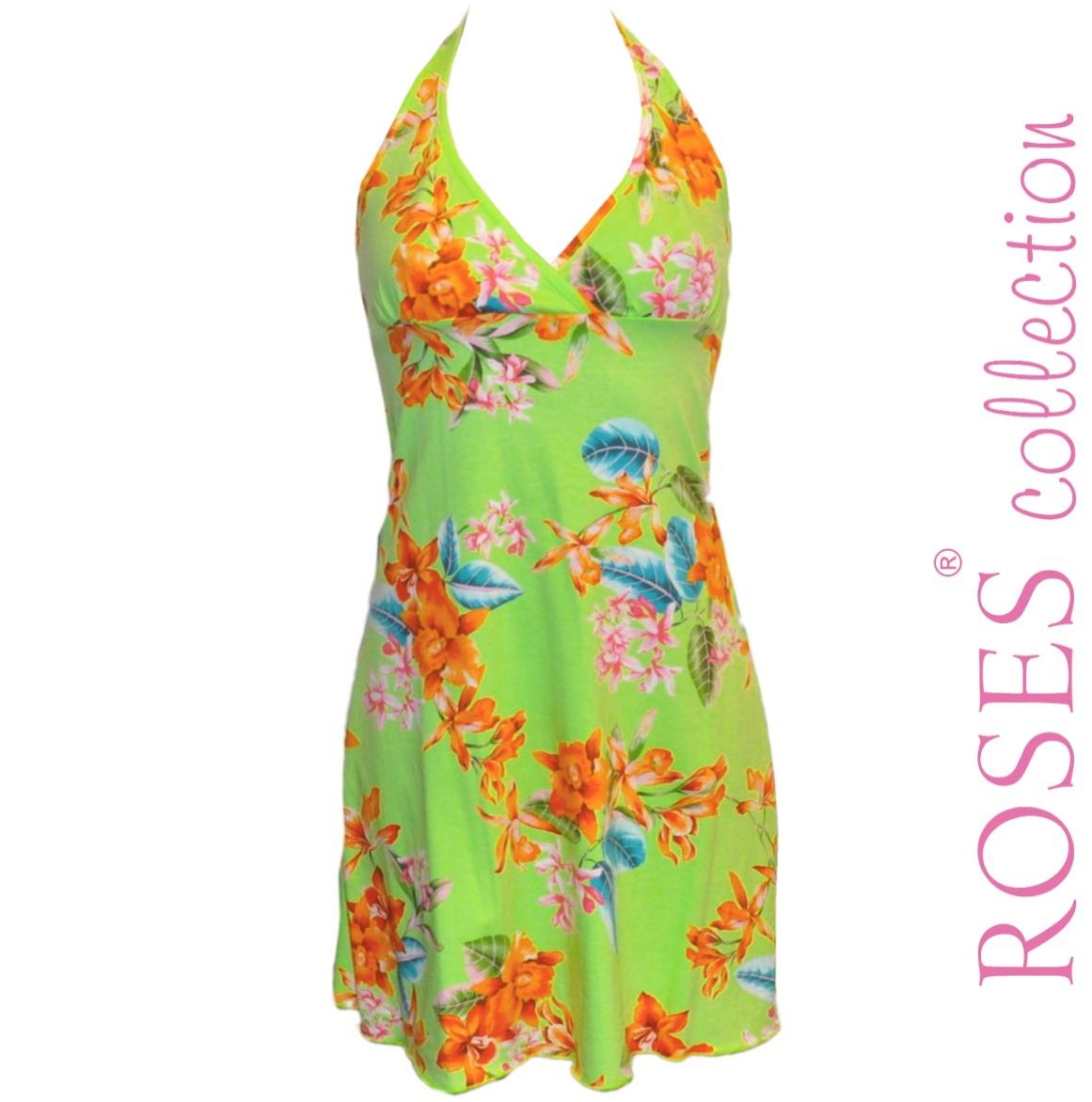 Letní šaty SANDRA zelené – Potvor - pomáhat tvořit 89952d4306