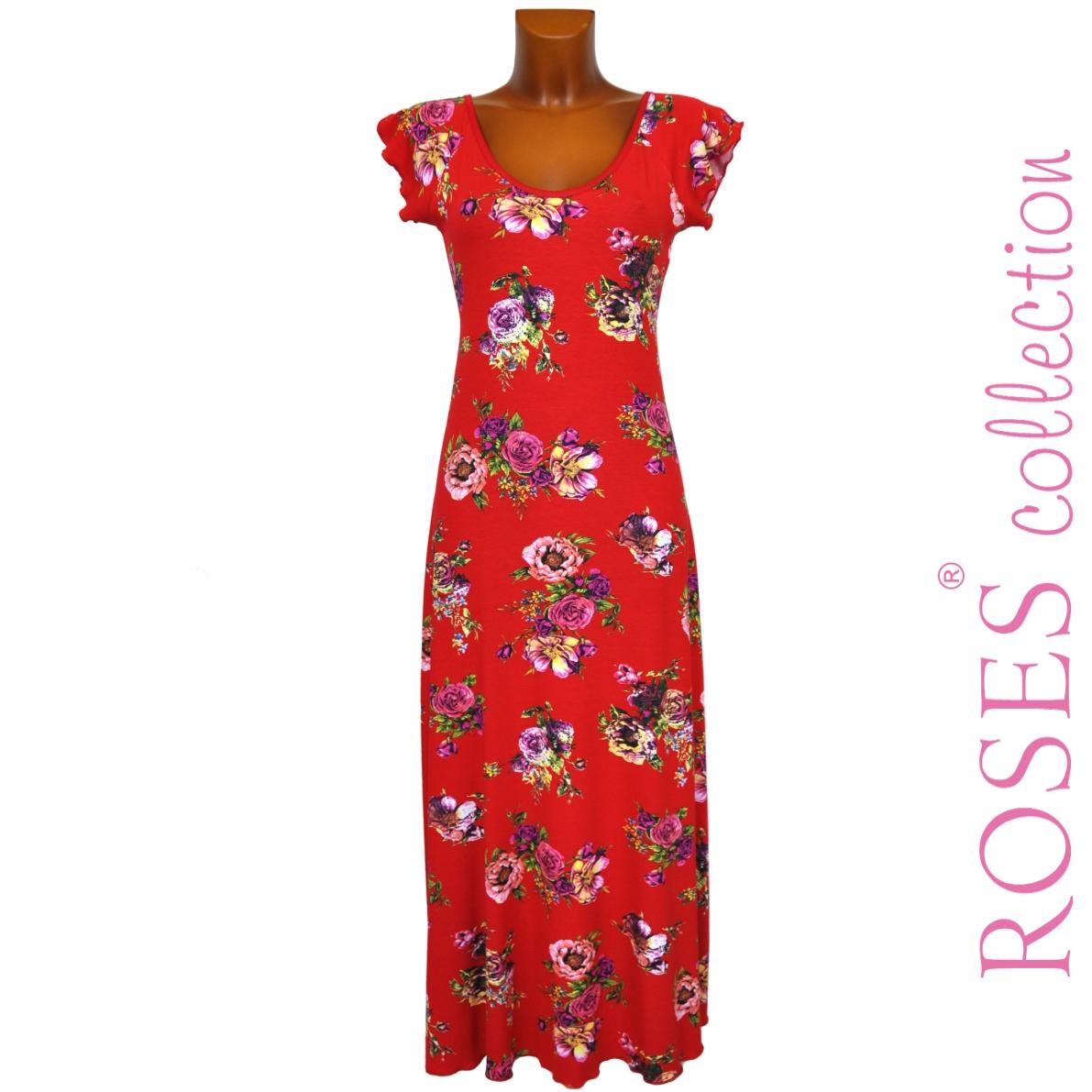 Letní šaty PAOLA červené – Potvor - pomáhat tvořit d884fb6831