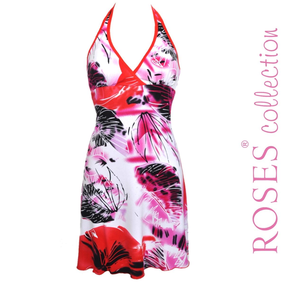 Letní šaty AGNES červené – Potvor - pomáhat tvořit f231556239