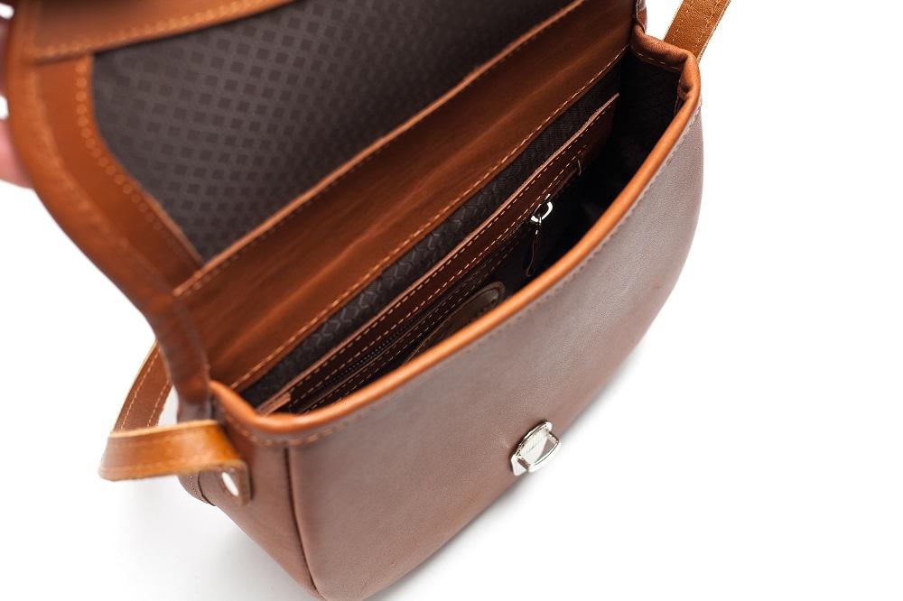 Mini kožená kabelka - přírodní – Potvor - pomáhat tvořit 2f5f3f7465