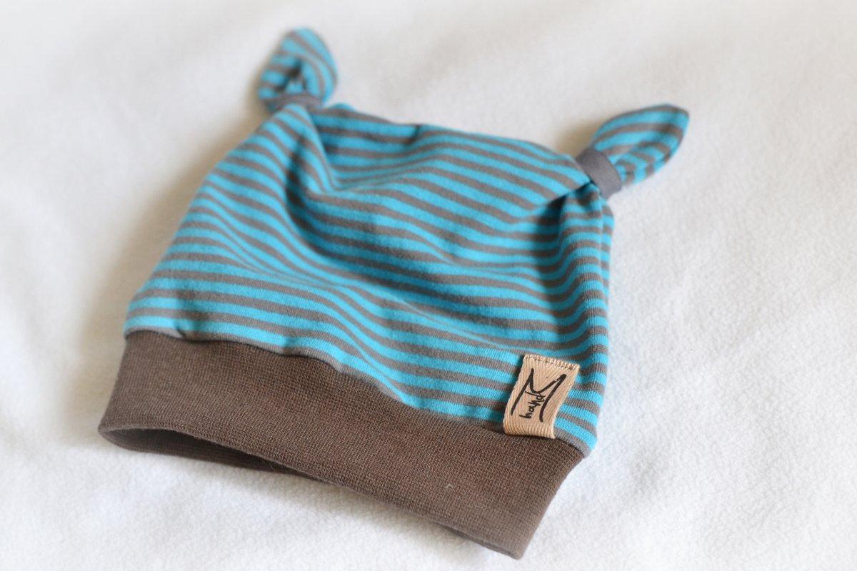 Dětská čepice s ouškama – Potvor - pomáhat tvořit abdcdbee41