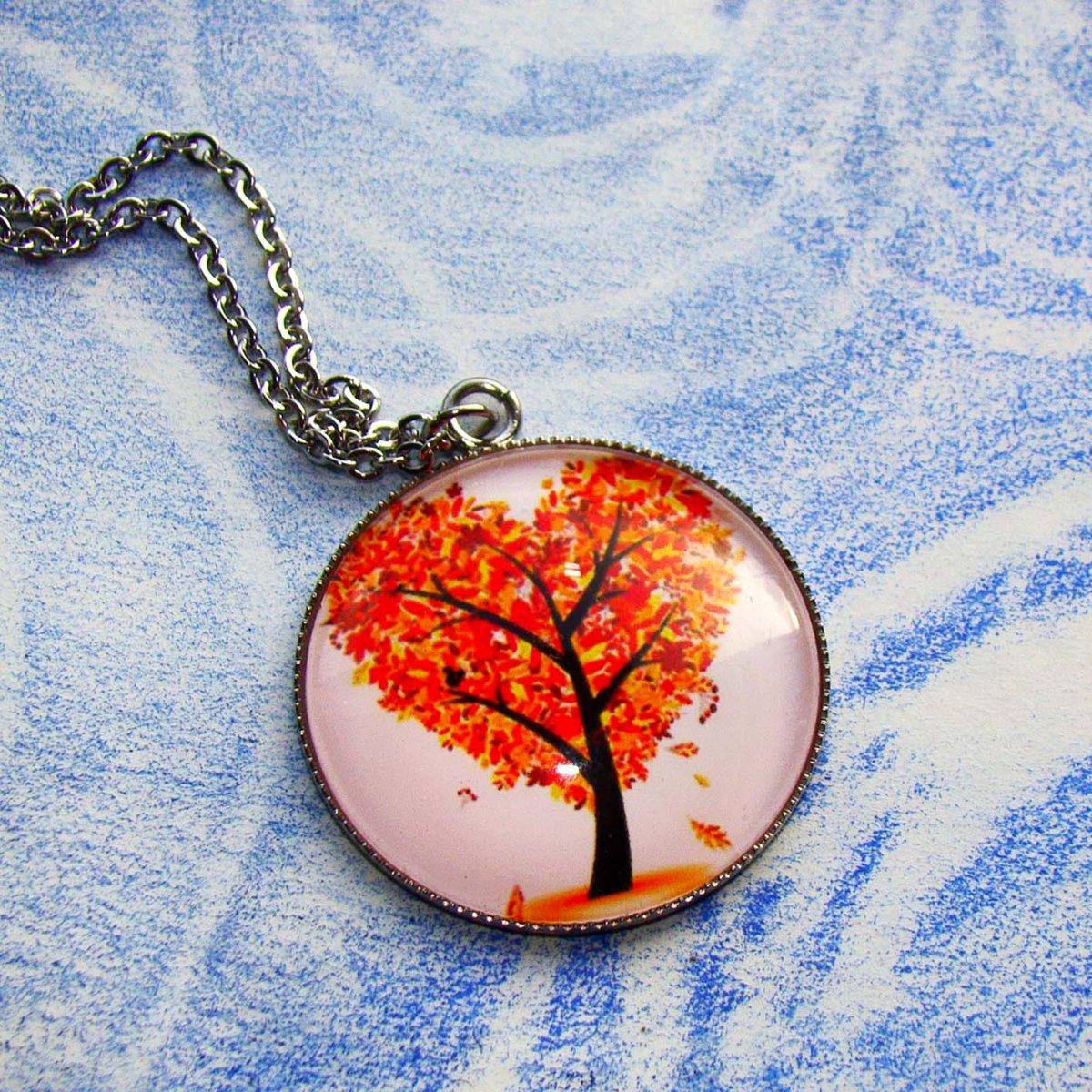 náhrdelník Strom života- chirurgická ocel – Potvor - pomáhat tvořit 9e711dafb4