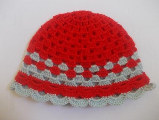 9ab88b7992c Nový háčkovaný klobouček – Potvor - pomáhat tvořit