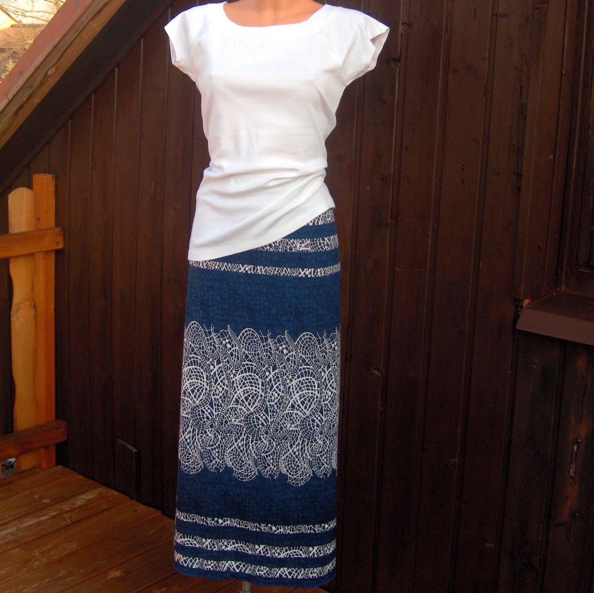 430c795b538 Dlouhá příjemná sukně......... – Potvor - pomáhat tvořit