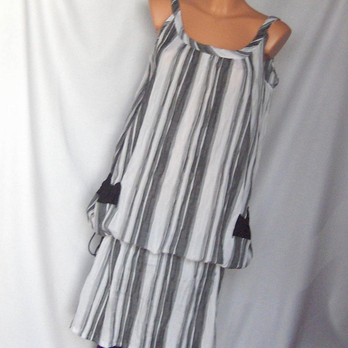 27bc83358f8 Pohodlné šaty na doma i na zahradu.... – Potvor - pomáhat tvořit