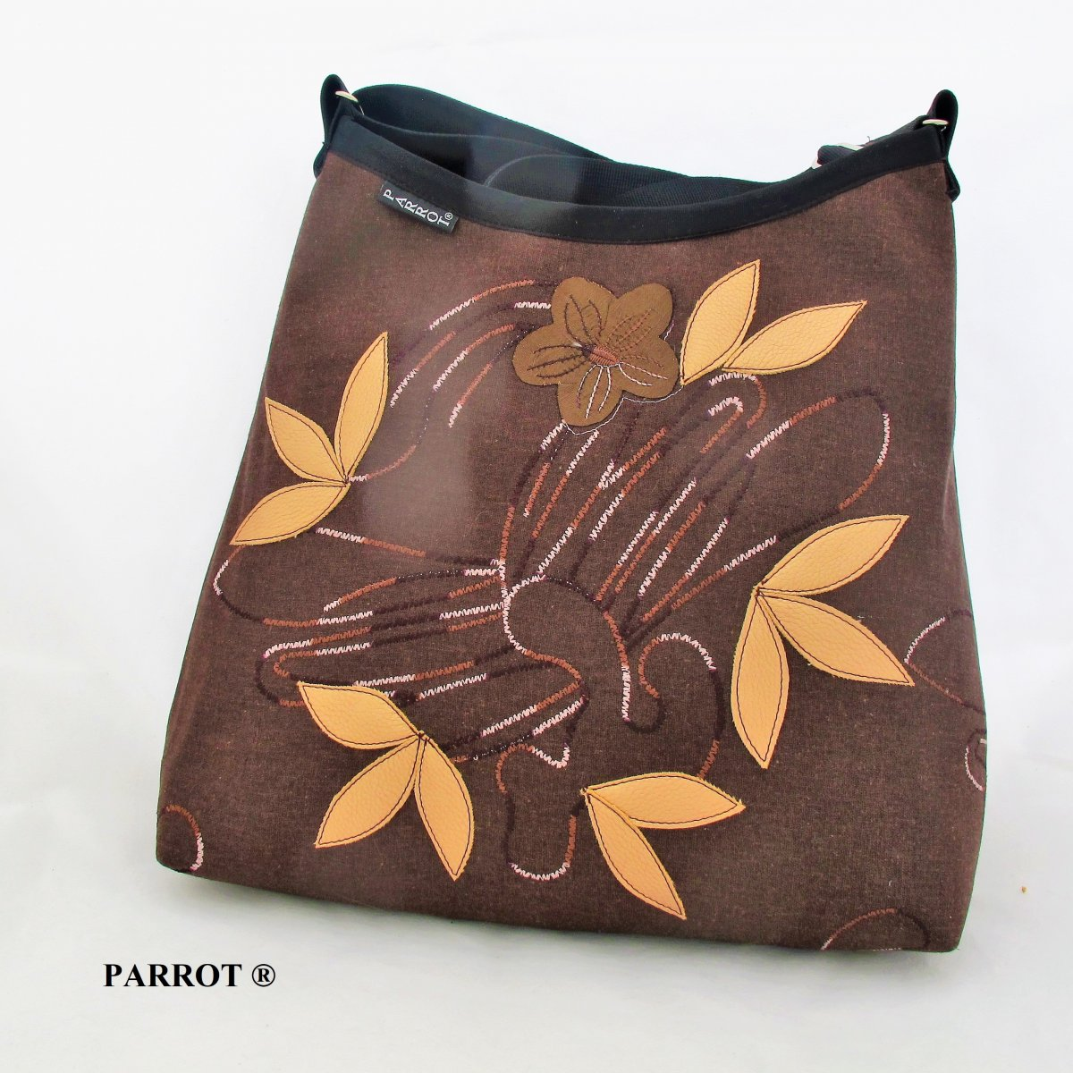 CHCOLATE BROWN BAG no.1 *** PARROT®