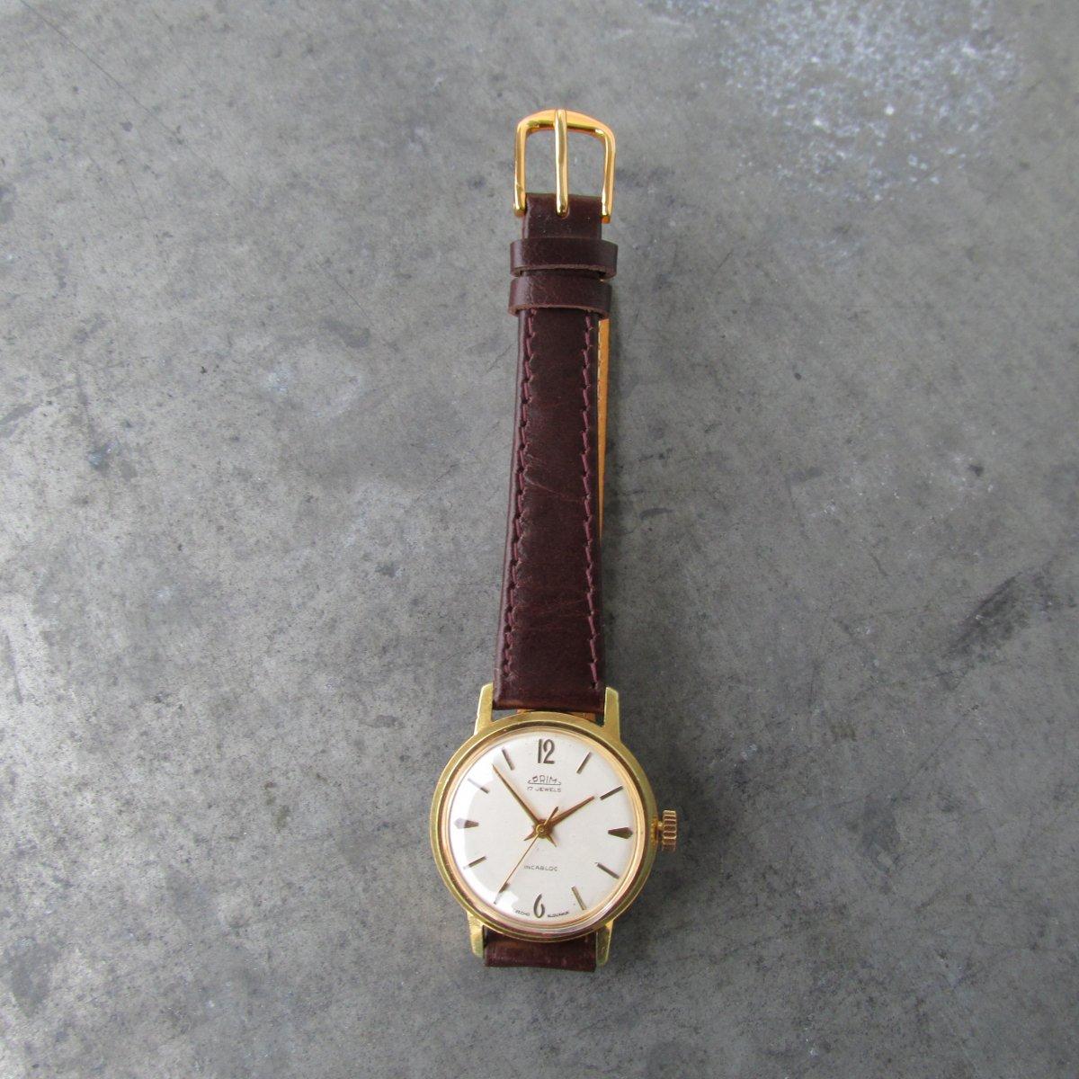 d00aad6bf Dámské náramkové hodinky PRIM Incabloc z roku 1966 – Potvor ...