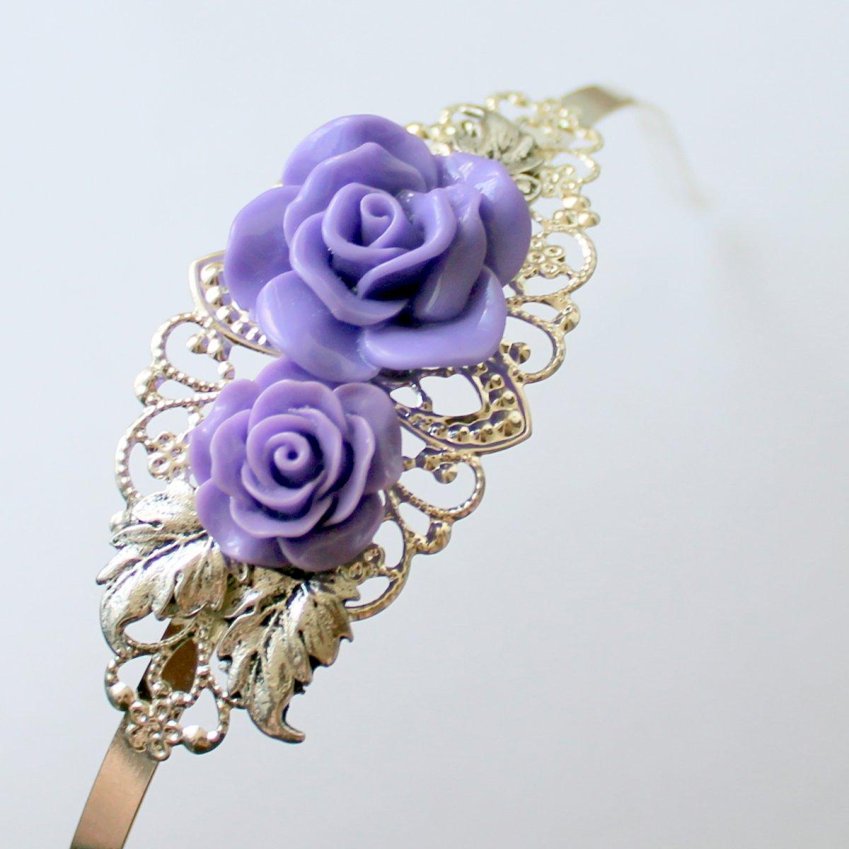 19124978aa4 Královna květin - čelenka – Potvor - pomáhat tvořit