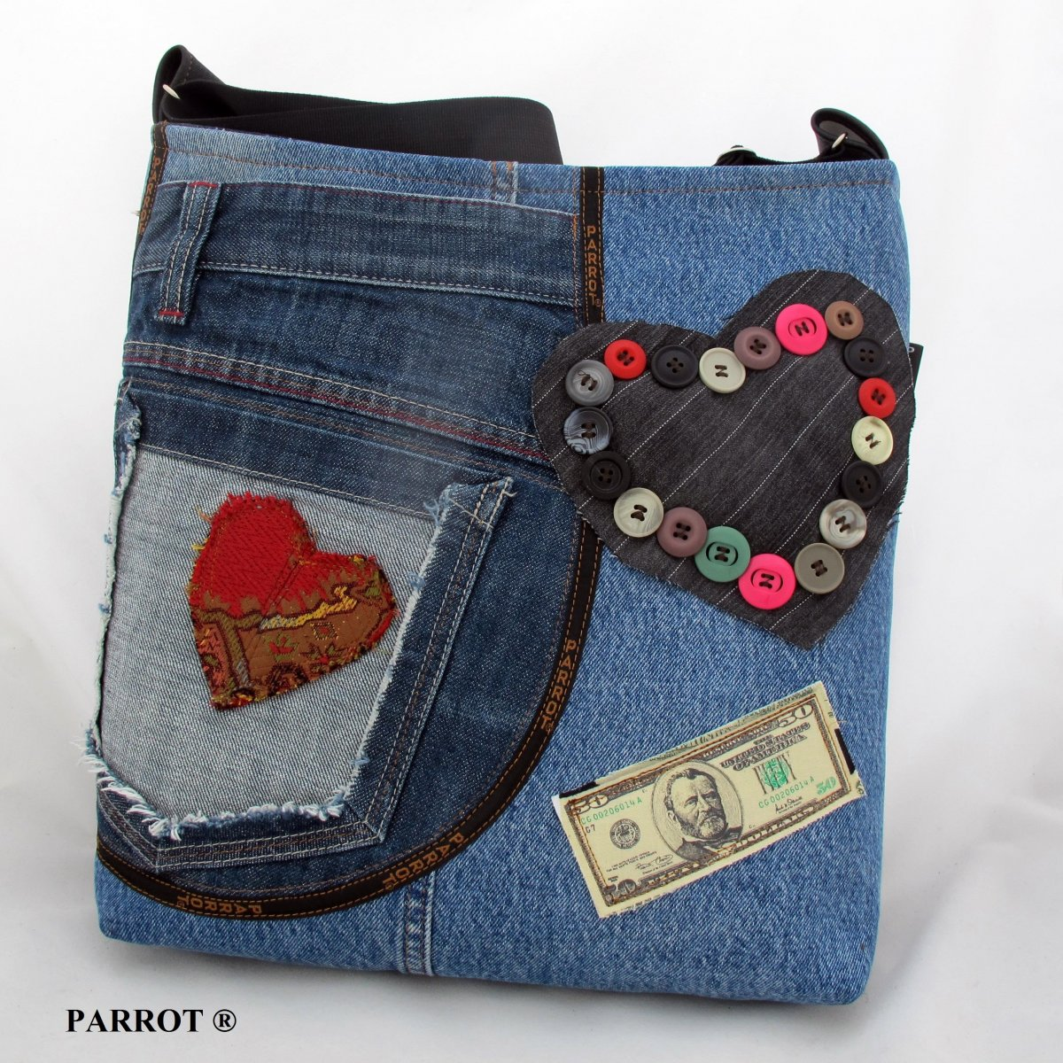 LOVE JEANS BAG * GAMA * PARROT®