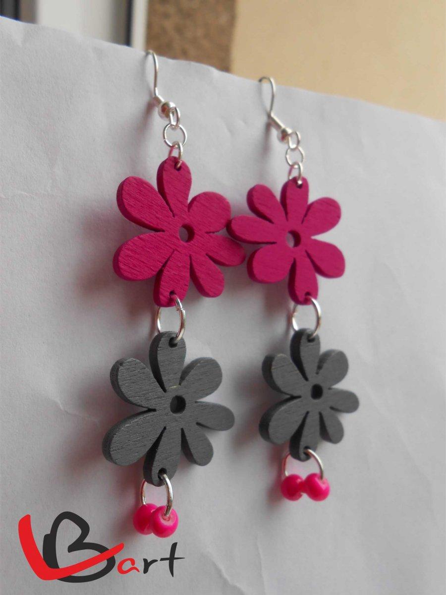 badee3506179 Kytičky růžové a šedé NUO72 – Potvor - pomáhat tvořit