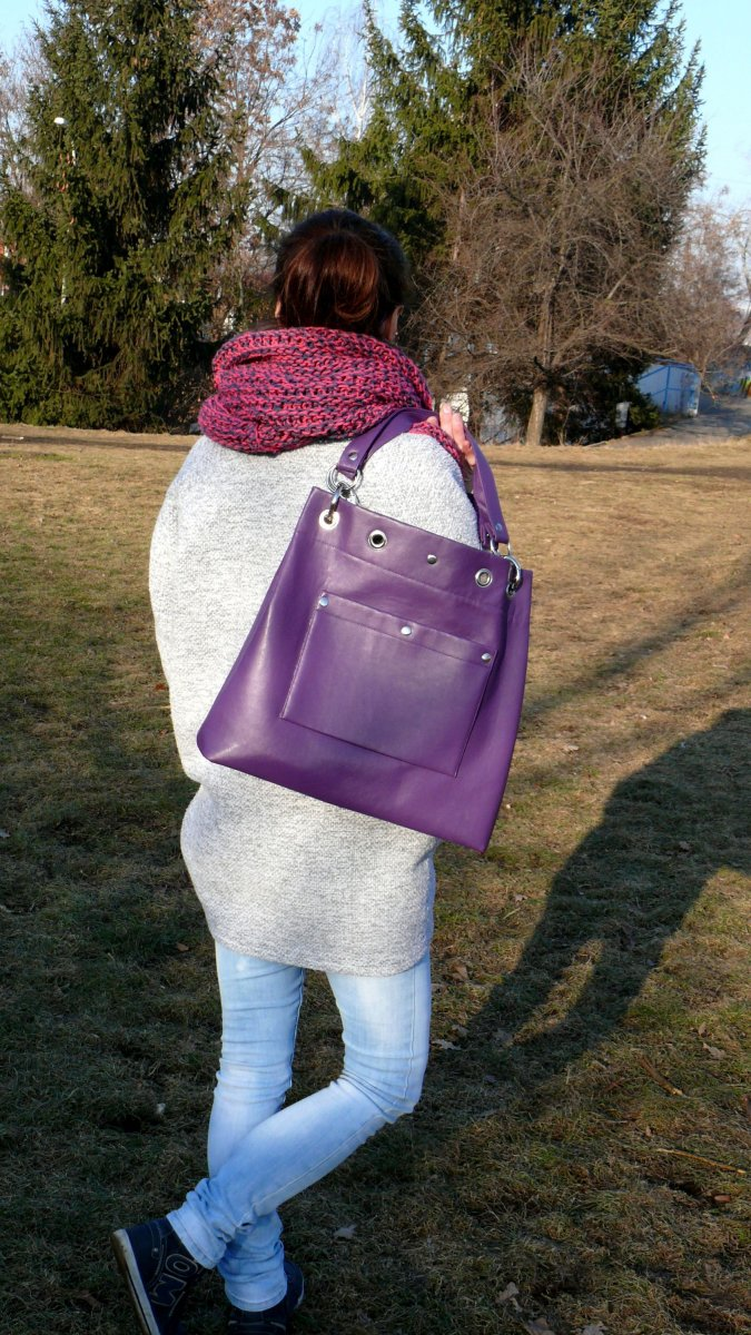 XXL City Royal Violet Bag
