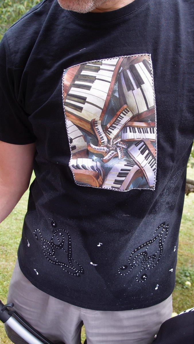 HUDEBNÍ (M) - pánské tričko – Potvor - pomáhat tvořit 8fe88ebad9