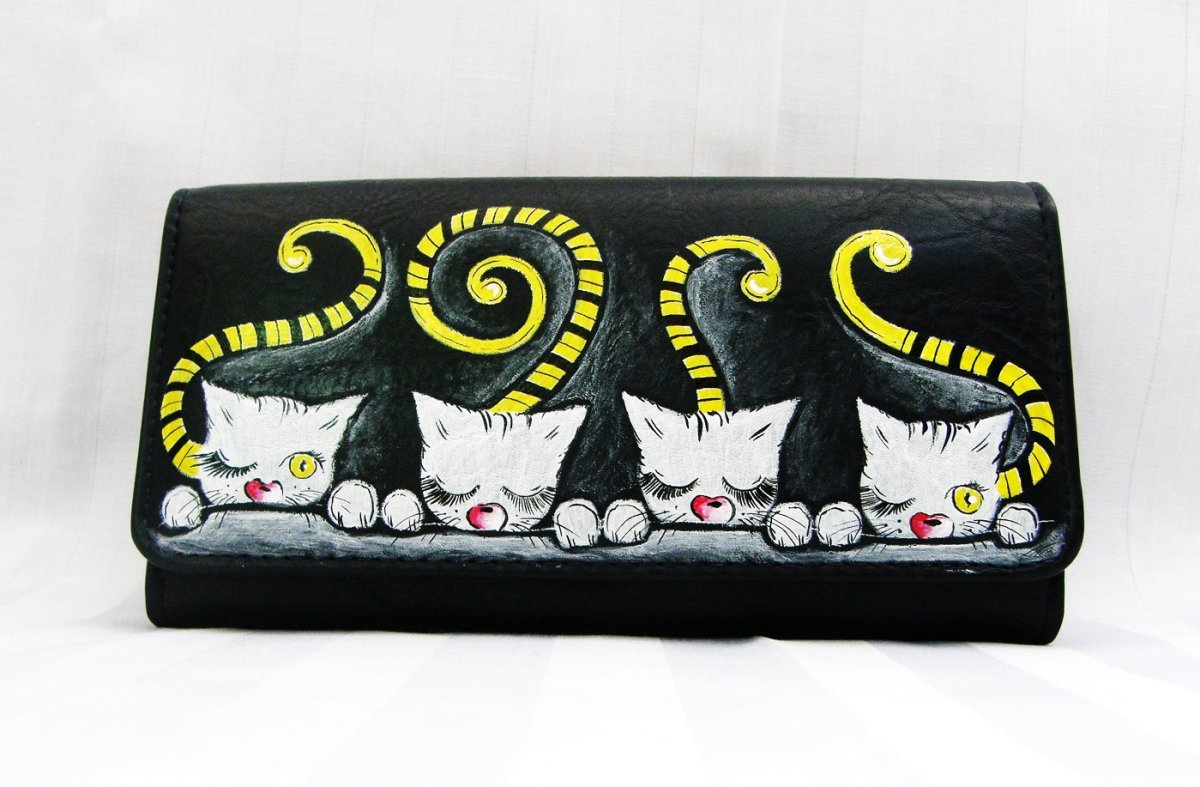 dámská peněženka-kočičky – Potvor - pomáhat tvořit ba1e83aed9