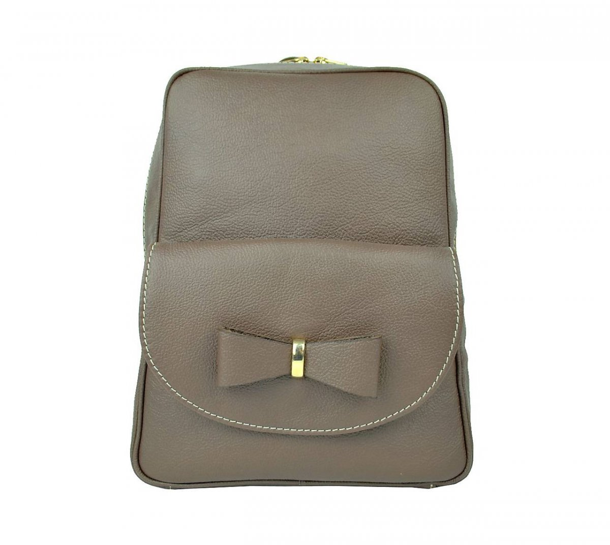 Exkluzivní kožený ruksak z pravé hovězí kůže v hnědé barvě – Potvor ... 90559c6355