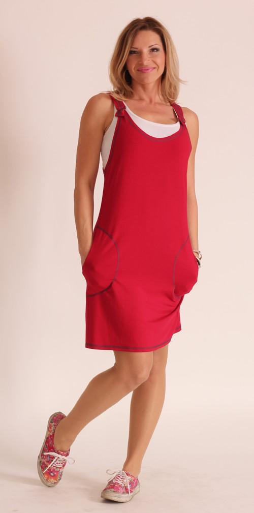 d729cb40107 Červená šatová sukně – Potvor - pomáhat tvořit
