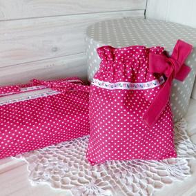 49d5539648b levandulová Liduška Obal na kapesníkovou krabici a pytlíček