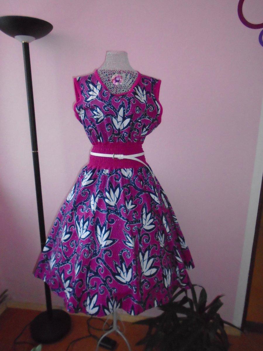 c9a1e3f19bc Dámské retro šaty - fialový sen – Potvor - pomáhat tvořit