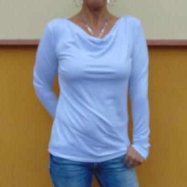 Tričko s vodou - barva bílá S - XXXL – Potvor - pomáhat tvořit acecd73689