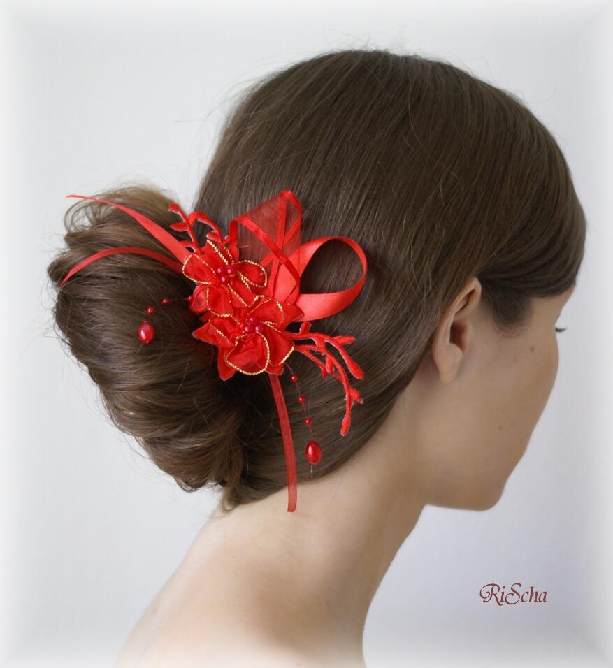 Ozdoba Do Vlasu Cervena Potvor Pomahat Tvorit