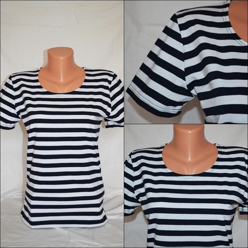 7134588662b Dámské námořnické tričko – Potvor - pomáhat tvořit