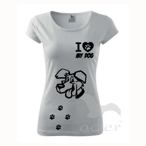 I love my dog - pes univerzál