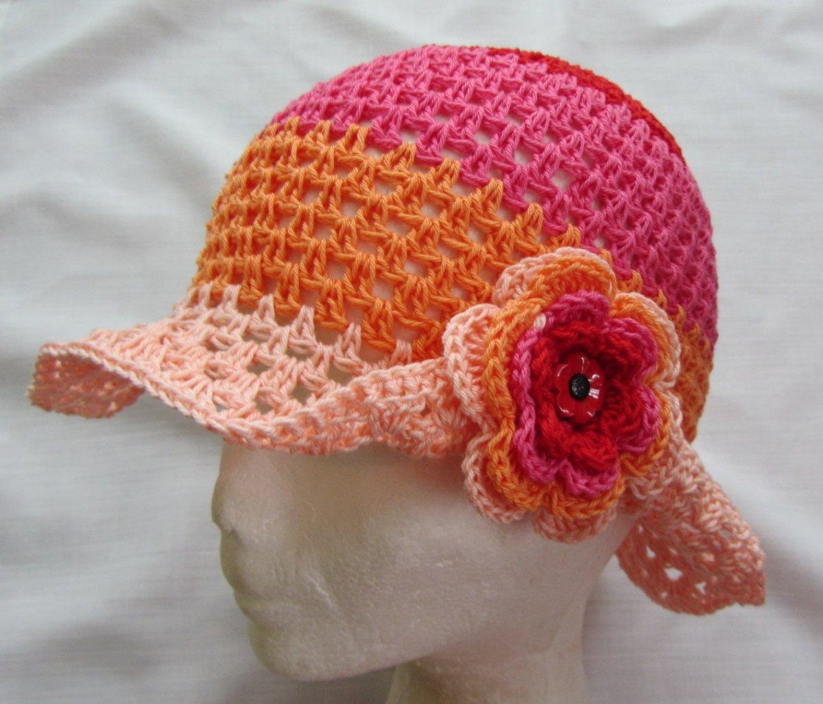 394a08dc848 Háčkovaný klobouček – Potvor - pomáhat tvořit