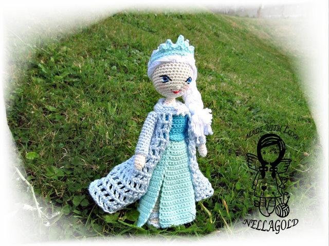 5231f8f0f04 Ledová královna Elsa - návod 110 – Potvor - pomáhat tvořit