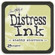 Distress Ink Mini Shabby Shutters (TDP40163)