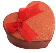 Dárková krabička na šperky SRDCE větší - červená 1 ks – Potvor ... b0676d99af9